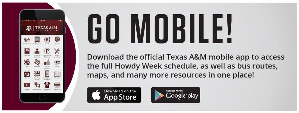 Download the TAMU Mobile App