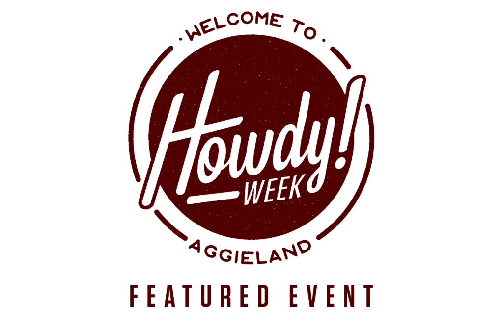 Howdy Week Featured Events logo maroon